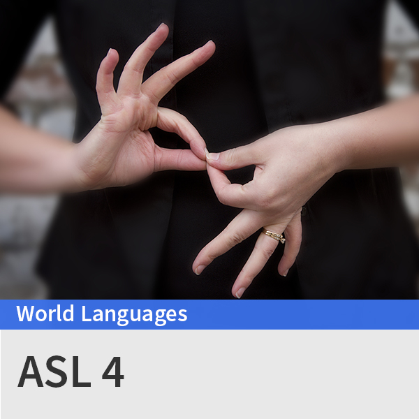 ASl 4 course picture