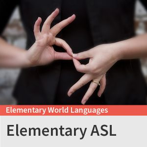Elementary ASL course picture