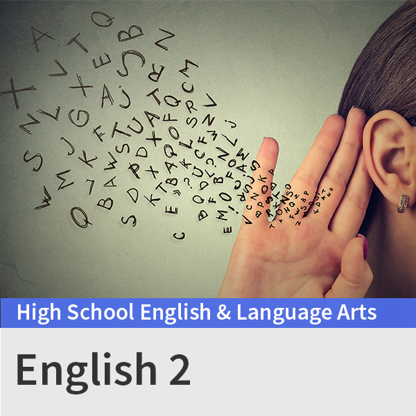 English 2 course picture