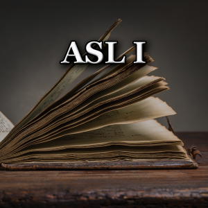 Summer ASL 1 Course