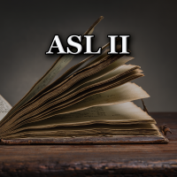 Summer ASL 2 Course