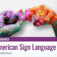 American Sign Language 1a: Introduction