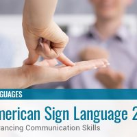 American Sign Language 2b: Advancing Communication Skills