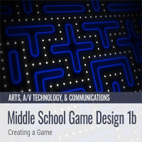 Middle School Game Design 1b: Creating a Game